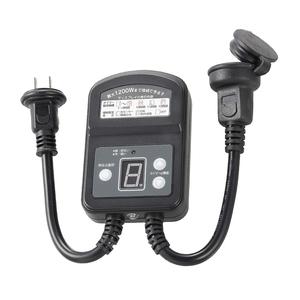 タイマー電源 光りセンサー内蔵 タイマー コンセント セットした時間に電源オフ / 暗くなったら点灯 最大1200W